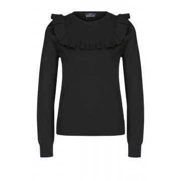 SET - Damen Pullover - Pullover - Black