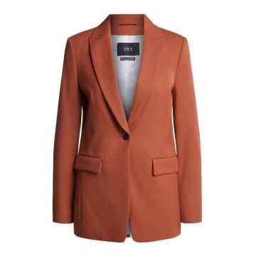 SET - Damen Blazer - Longblazer - Cinnamon Bun