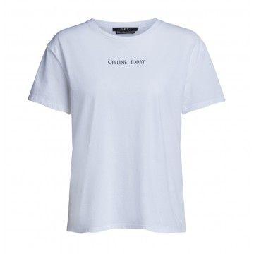 SET - Damen T-Shirt - Offline Today - White