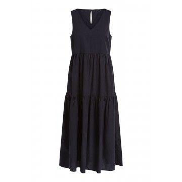 SET - Damen Kleid - Black