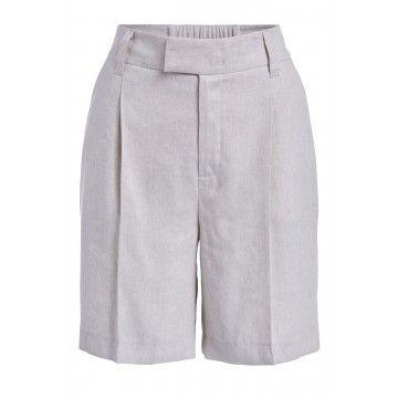 SET - Damen Shorts - Bermuda - Light Stone