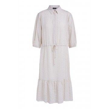 SET - Damen Kleid - Light Beige