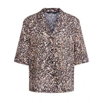 SET - Damen Bluse - Blouses - Animal