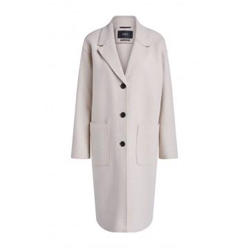 SET - Damen - Mantel - Coat - Beige