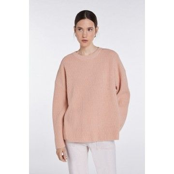 SET - Damen Pullover - off:line Pullover - light rosé