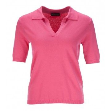 PRINCESS GOES HOLLYWOOD - Damen Poloshirt - Basic Polo - Paradise Pink