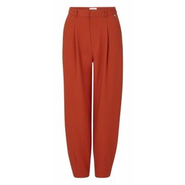 RICH & ROYAL - Damen Hose - Pants - Rusty Red