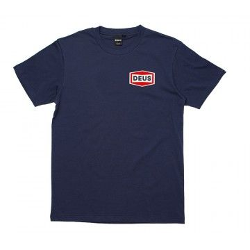 DEUS EX MACHINA - Herren T-Shirt - Speed Stix Tee - Navy
