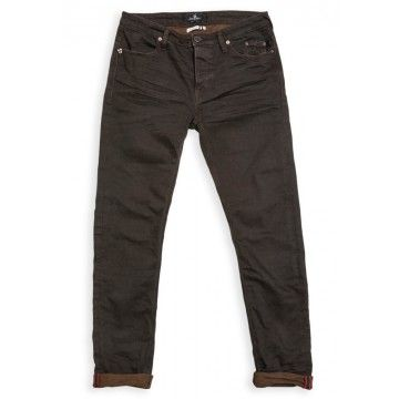 BLUE DE GENES - Herren Hose - Repi Celsius Dark Jeans - Black/Brown