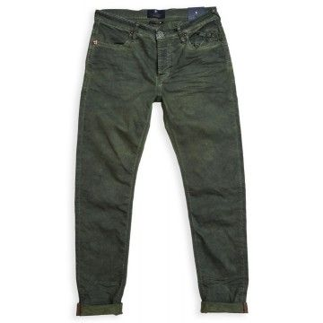 BLUE DE GÊNES - Herren Hosen - Repi Trouser Super Oil - Green