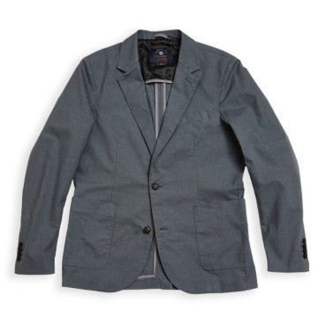 BLUE DE GÊNES - Herren Blazer - Leopardi Spin Blazer - Pale Grey
