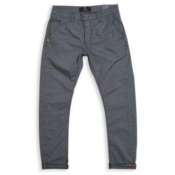 BLUE DE GÊNES - Herren Hose - Paulo Spin Trousers - Pale Grey