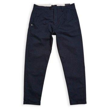 BLUE DE GÊNES - Herren Hose - Raphael Spin Trousers - Navy