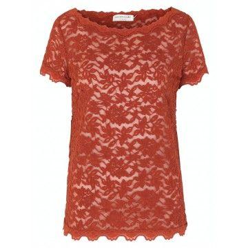 ROSEMUNDE - Damen T-Shirt - Delicia - Red Ochre