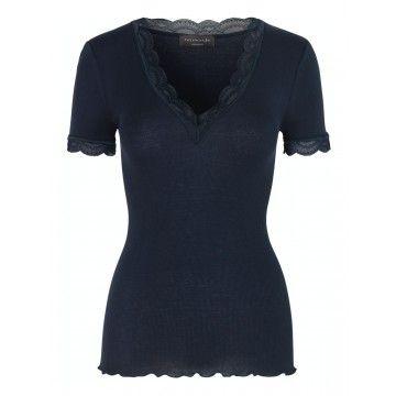 ROSEMUNDE - Damen T-Shirt - Barney - Navy