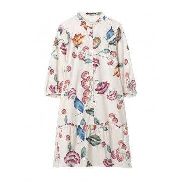 LUISA CERANO - Damen Kleid - Flower Print - Multi