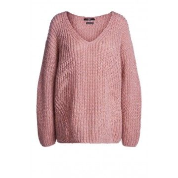 SET - Damen Pullover - Rose