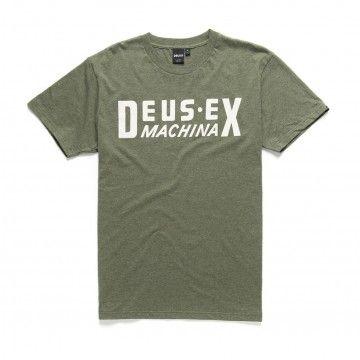 DEUS EX MACHINA - Herren T-Shirt - DX Box Tee - Green