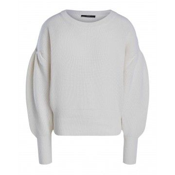 SET - Damen Pullover - Off White