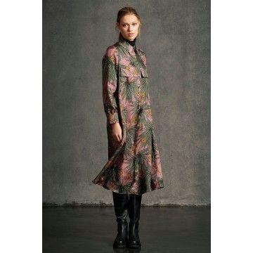 LUISA CERANO - Hemdblusenkleid mit Print - Multi