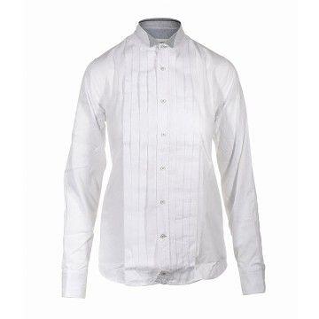 FIL NOIR - Damen Hemdbluse - Style Berta - White