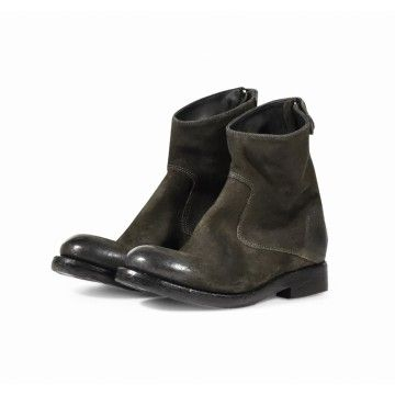 THE LAST CONSPIRACY - Damen Stiefelette - Audley Waxed Suede - C