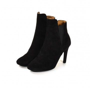 THE LAST CONSPIRACY - Damen Stiletto - Junko - Goat Leather - Bl