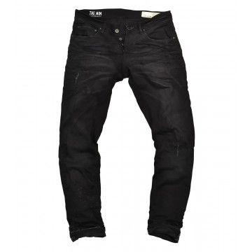 THE NIM - Herren Jeans - Dylan Slim Fit Jeans - Damaged