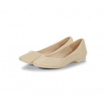 THE LAST CONSPIRACY - Damen Ballerina - Cadi - Perf. Leather - O