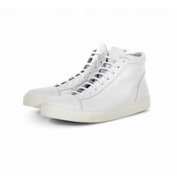 THE LAST CONSPIRACY - Herren Sneaker - Jorge - Leather - Clean Optical White