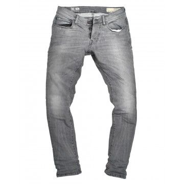 THE NIM - Herren Jeans - Dylan Slim Fit Jeans - Medium Grey
