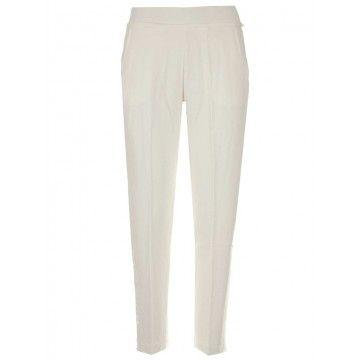 WOOLRICH - Damen Hose - W´s Fleece Pant - White