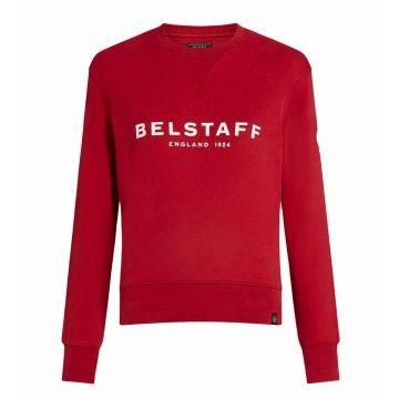 BELSTAFF - Damen Sweatshirt - 1924 Swaetshirt - Belstaff Red