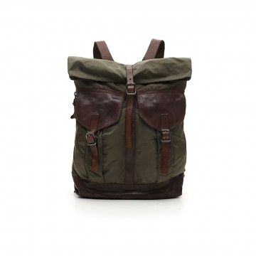 CAMPOMAGGI - Rucksack - Backpack - Military / Brown