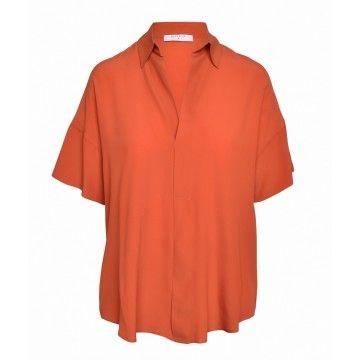 BEATRICE B. - Damen Bluse - Camicia Mara - Orange