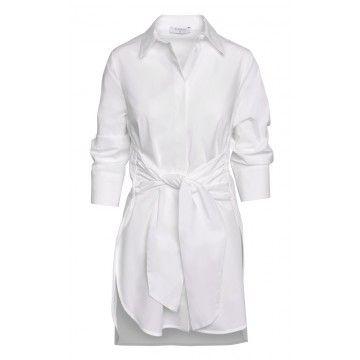 BEATRICE B. - Damen Bluse - Blouse 4532 Fabric - Weiß