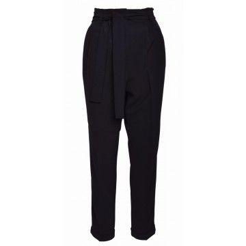 BEATRICE.B - Damen Hose - Pantaloni - Black