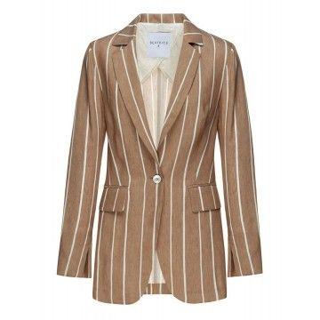BEATRICE.B - Damen Blazer - Jacket - Camel
