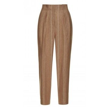 BEATRICE.B - Damen Hose - Carott Trousers - Camel