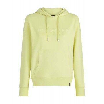 BELSTAFF - Damen Sweater - 1924 Kapuzenpullover - Citron