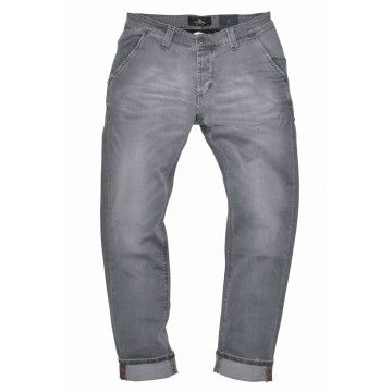 BLUE DE GÊNES - Herren Hose - Paul Carbon Light Trousers 1514 - grey