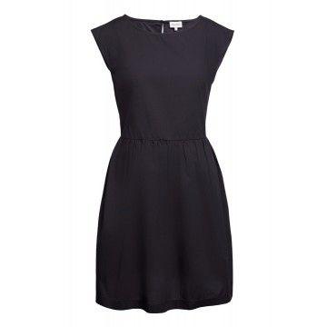 WOOLRICH - Damen Kleid - Popeline Dress - Black