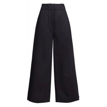 WOOLRICH - Damen Hose - W'S Popeline Pants - Black