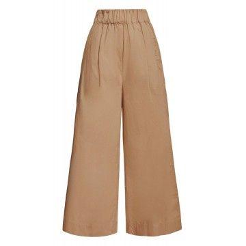 WOOLRICH - Damen Hose - W'S Popeline Pants - Sand Dune