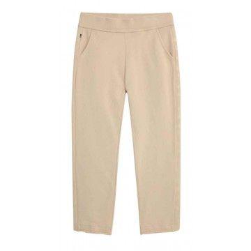 WOOLRICH - Damen Hose - W´s Fleece Pant - Feather Beige