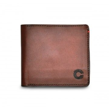 Croots - Leder Geldbörse - Vintage Leather - Port