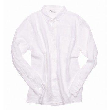 CROSSLEY - Herren Hemd - JIKES - 10  Mens LS Shirt - white -