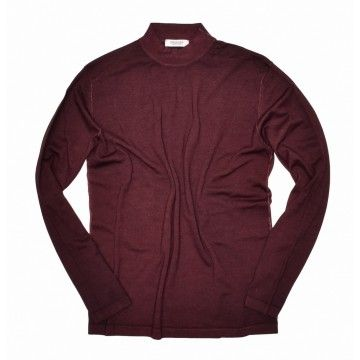 CROSSLEY - Herren Longsleeve - HAMIN - Dark Bordeaux