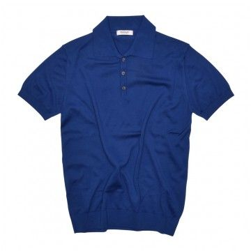 CROSSLEY - Herren Polo-Shirt - Knit Man Polo - Royal Blue