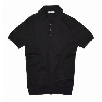 CROSSLEY - Herren Polo-Shirt - Knit Man Polo - Nero